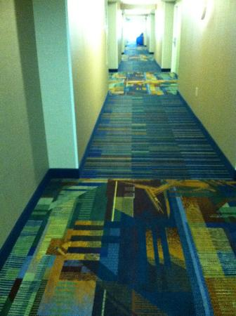 Georgia Tech Hotel and Conference Center: Attractive hallways