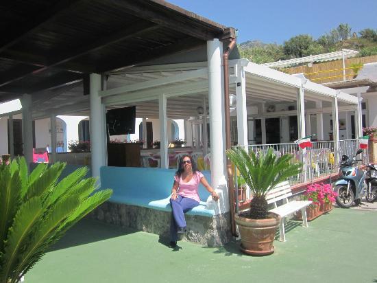 Hotel  Cava dell'isola: terrazza colazione