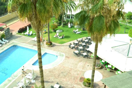 Royal Costa Hotel: view from our balcony