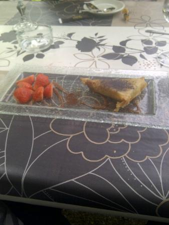 L'Embarcadère : Banana & Ricotta Cheese Tarte