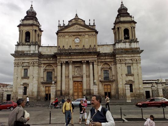 Mercado Central : Catedral de Guatemala