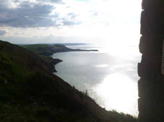 Ceredigion, UK: View from the window