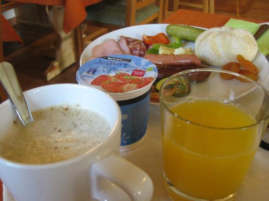Penzion Kaps: breakfast