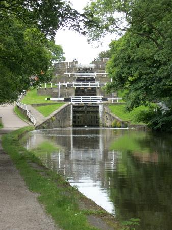 Bingley Five Rise Locks: Five Rive Locks