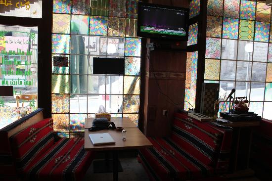 Amman Pasha Hotel : Pizza Roma cafe next door