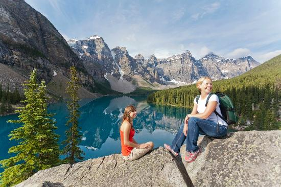Lake Louise, Canada: Moraine Lake, Banff National Park, Alberta, Canada
