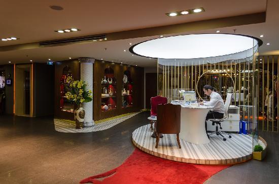 Hotel Sultania: Lobby