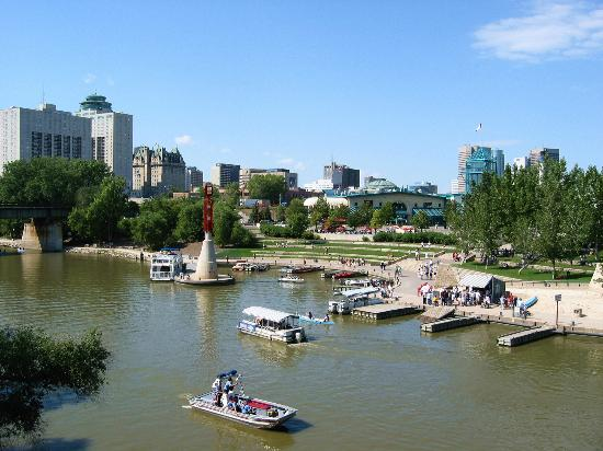 ‪‪Winnipeg‬, كندا: The Forks National Historic Site, Winnipeg, Manitoba, Canada‬