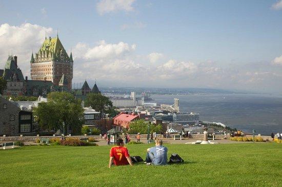 Dufferin Terrace (Place Terrasse Dufferin), Quebec City, Canada