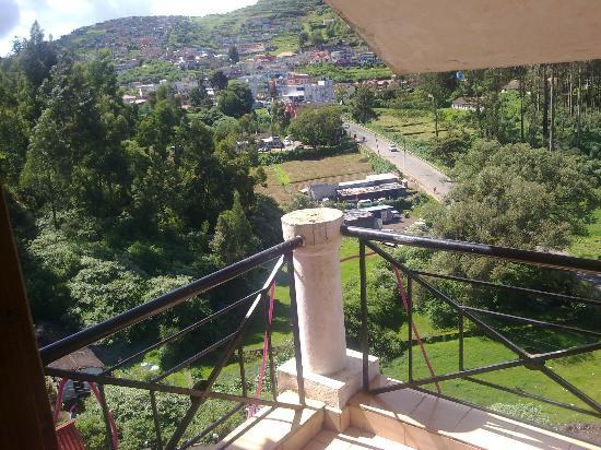 Sunshine Inn : Top Room View