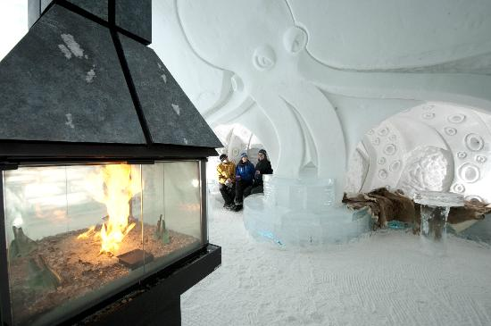 One Section Of Hotel Rooms Picture Of Hotel De Glace