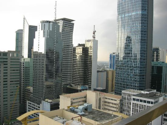 BSA Suites - Makati: View from Pool area