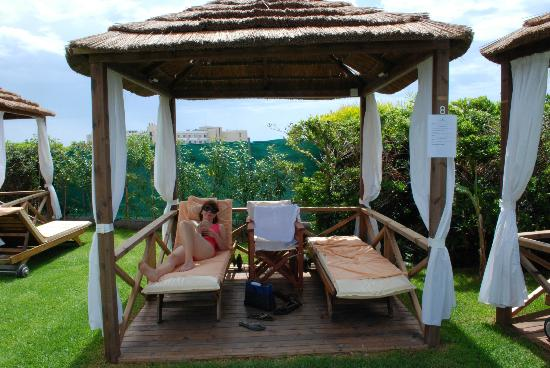 TUI SENSIMAR Pioneer Beach Hotel by Constantinou Bros: Our personal cabana