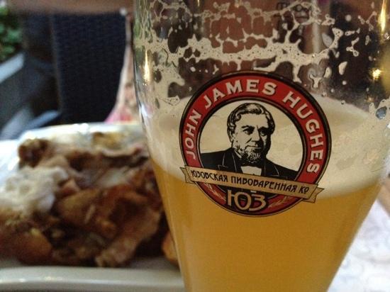 John James Huge's Brewery: beer & meat