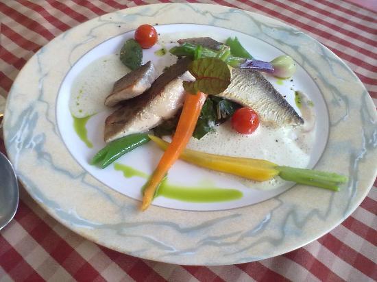 Hotel Jaegerhof: lecker Fisch