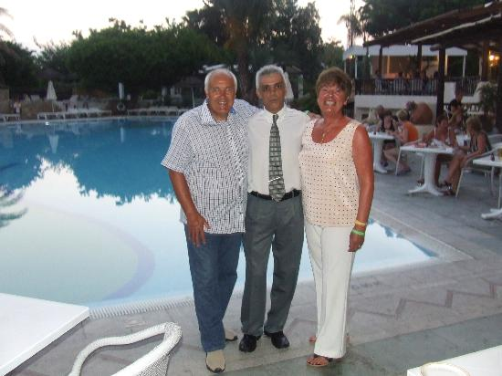 Paphos Gardens Holiday Resort: one of the nicest guys we have met