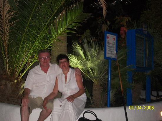 The Arthington: in tenerife after dinner