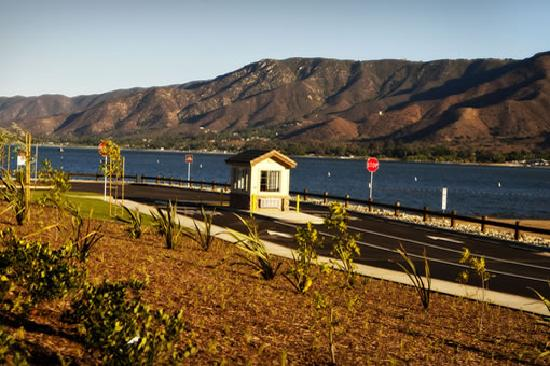 Entrance to La Laguna Boat Launch, Lake Elsinore, CA