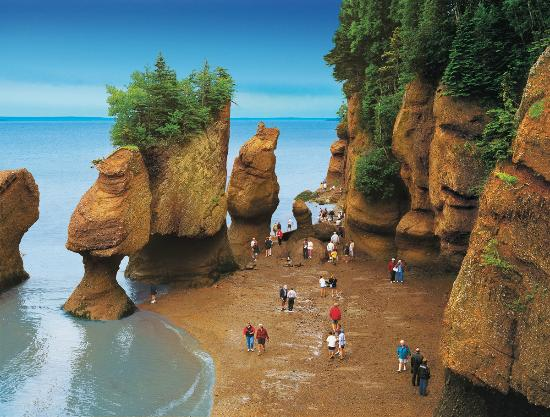 Hopewell Cape, Kanada: Hopewell Rocks, New Brunswick, Canada