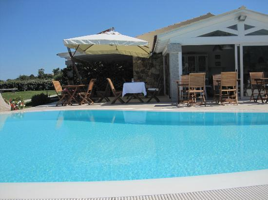 Cento Ulivi: Breakfast/ Pool area