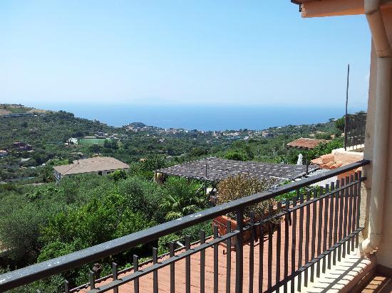 Relais Villa Caprile: panorama dalla camera