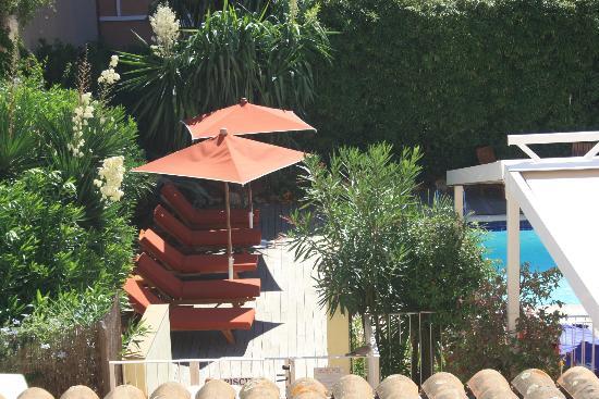 Matisse Hotel : particolare della piscina dalla nostra camera