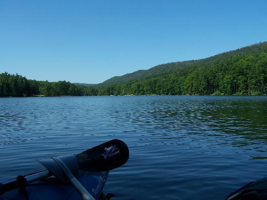 Cowans Gap State Park: Kayaking on Cowans Gap lake