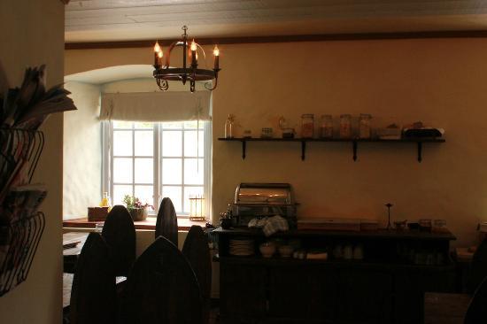 Hotell Helgeand Wisby: Breakfast room