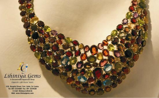 Lihiniya Gems semi precious gems