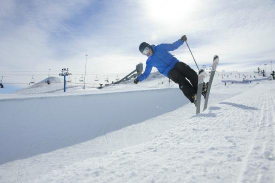 Skiing at Canada Olympic Park, Calgary, Alberta, Canada