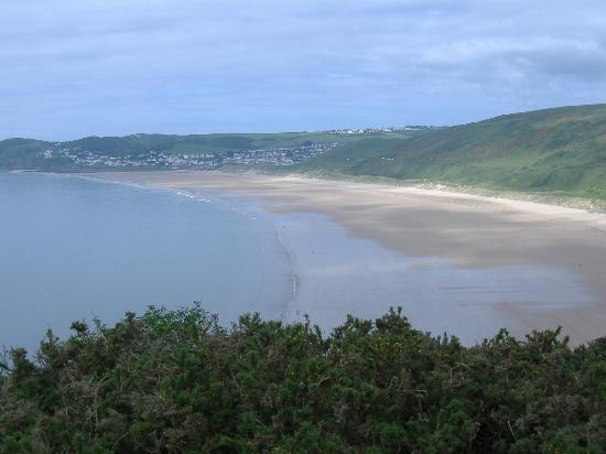 Woolacombe Beach - Looking from Baggy Point ( National Trust Headland)