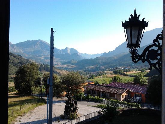 Hotel rural Haras Aritza: Vistas desde el balcón de la habitación
