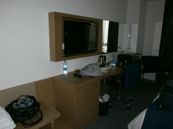 Holiday Inn Express Shanghai Jinsha: La habitación