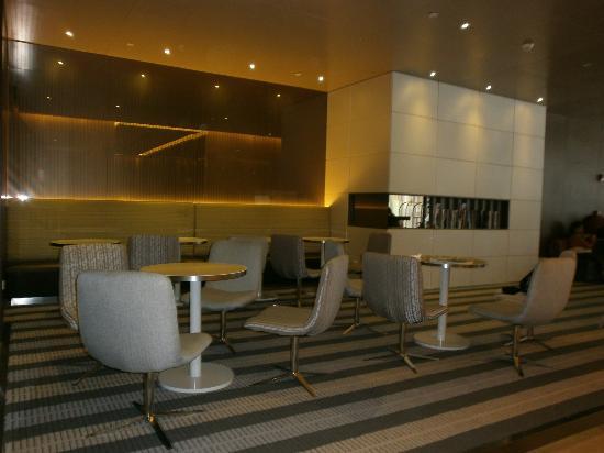 Holiday Inn Express Shanghai Jinsha: Sala de espera y de Internet