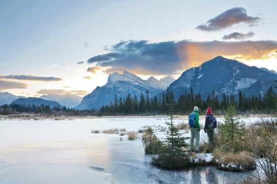 แบมฟ์, แคนาดา: Vermilion Lakes, Banff National Park, Alberta, Canada