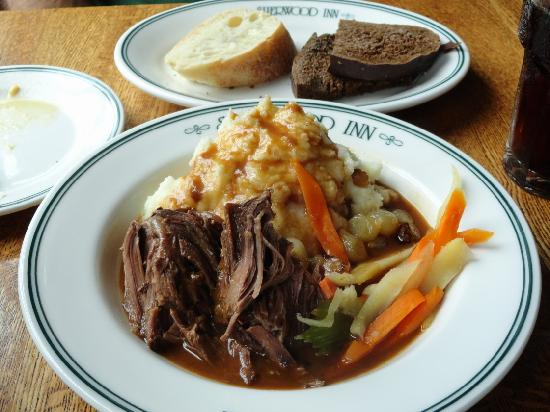Sherwood Inn: OMG! Yankee Pot Roast so tender