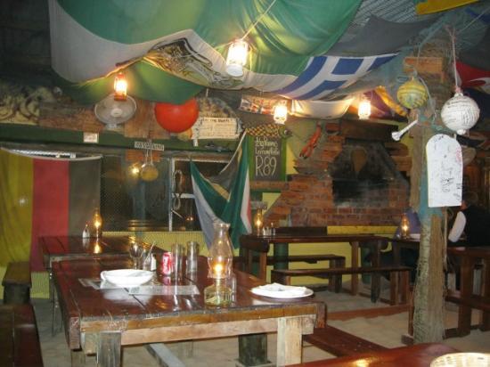 Tapas Beach Restaurant: Restaurant