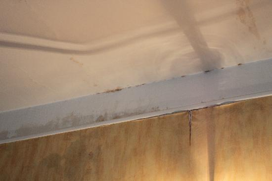 Prince Hotel: More damp on other wall