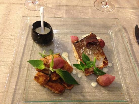 La Table d'Aranda: Местная рыбка