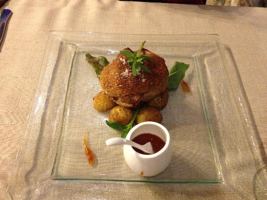 La Table d'Aranda : Мясо с картофелем