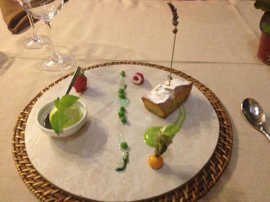La Table d'Aranda: Гороховый десерт!!!