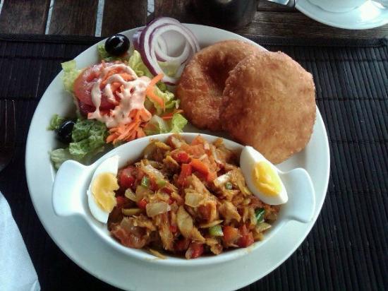 Scout's Place Restaurant & Bar: Caribbean Breakfast