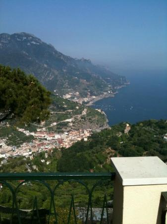 La Dolce Vita: terrace view.... doesn't get any better than this!