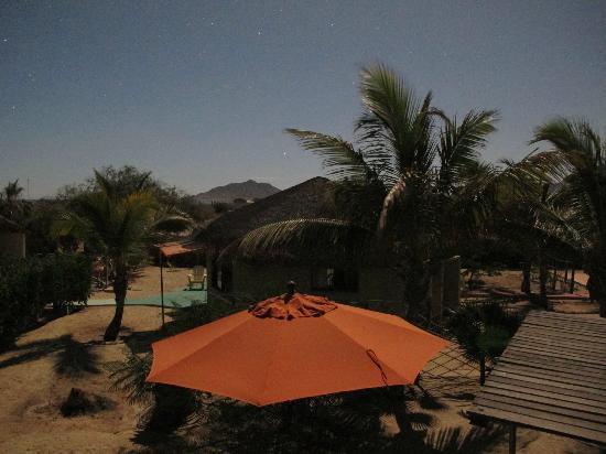 Cabo Pulmo Beach Resort: Vista notturna con tempo lungo