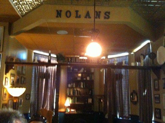 Nolan's Irish Pub: Snug-Snug