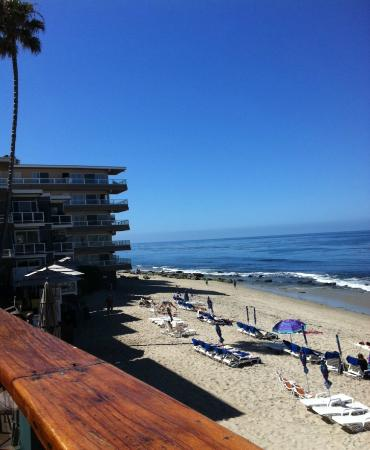 Pacific Edge Hotel on Laguna Beach: Another awesome view from our room.