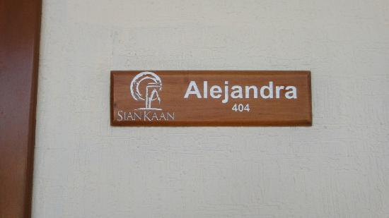 Hotel Posada Sian Ka'an: room name