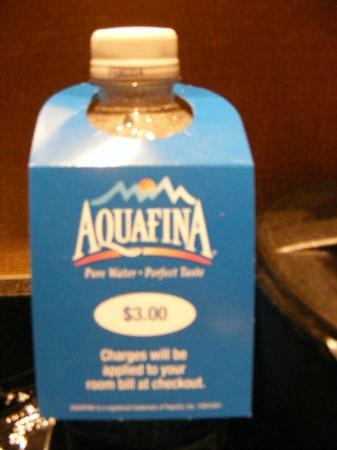 Courtyard Hamilton: water price