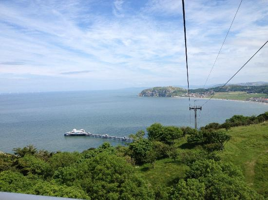 Cae Mor Hotel: Cable car to the Great Orme