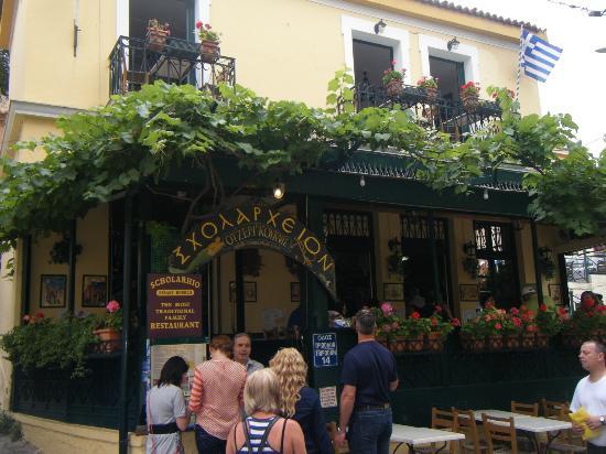 Εστιατόριο Σχολαρχείον: Restaurant in Plaka Athens Greece